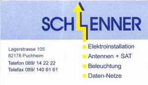 Logo vom Meisterbetrieb Hans-Joachim Schlenner, Elektroinstallationen